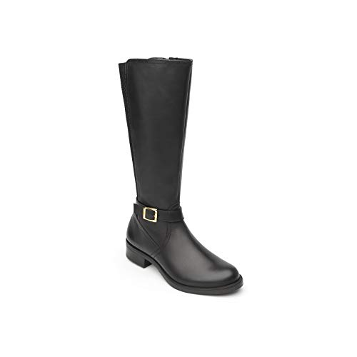 Riding Style Boots - Flexi NALA Women's Genuine Leather Long Equestrian Style Riding Boot | 46612 (6)