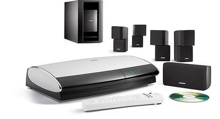 Bose Lifestyle 28 Series III DVD Home Entertainment System - Black (Discontinued by (Series Iii Dvd)