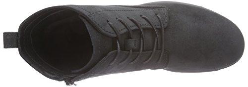 Ecco ECCO TOUCH 25 B - botas de combate de cuero mujer Negro (BLACK5001)