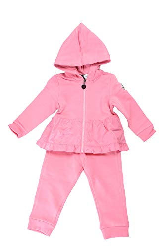 Moncler Baby Girl's Pink Sweatshirt and Pants Set Moncler Sz 12/18 Month ()