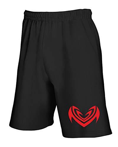 Tribal Tuta T Nero shirtshock Fun0451 Pantaloncini XUgUqO