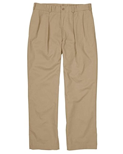 The Fine Swine Men's Bill's Khakis Original Twill M1 Pleated Pants 42 ()