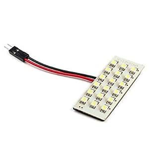 SKT® 18de LED de 1206SMD LED blanco Lámpara de luz para el coche (DC 12V)