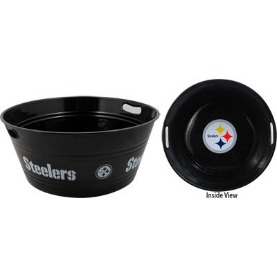 (Party Tub Steelers (20 inches diameter x 8.5 inches deep))
