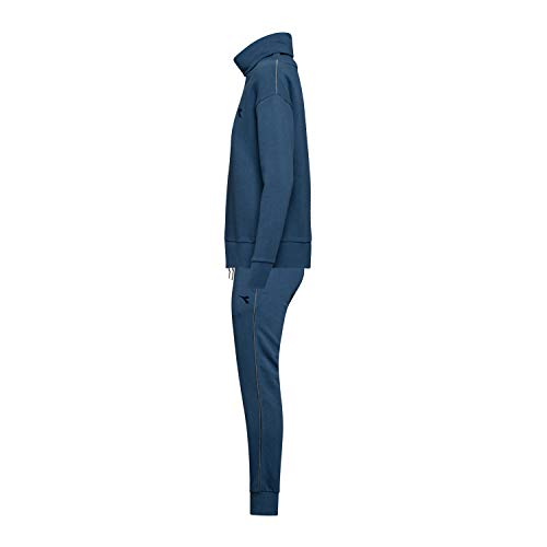 Diadora cuff Blue Per Donna Tuta Fl Dark Suit 633 Denim Unbrushed L T1rpxT