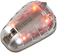 HEL-Star 6 Tactical Helmet Signal Light Green & IR Or Red & IR Military Airborne Survival Light with M