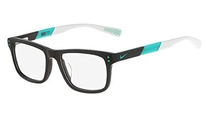 493b7aec43 Amazon.com  Eyeglasses NIKE 5536 070 DARK GREY-HYPER JADE  Sports ...