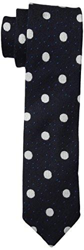 Scotch & Soda Men's Patterned Tie, Blue, One Size