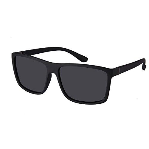 Polarized Sunglasses for Men Driving, Unisex Sun Glasses Square Vintage 100% UV Protection Glasses for Men/Women - Lenses Makes Polarized Who Best The