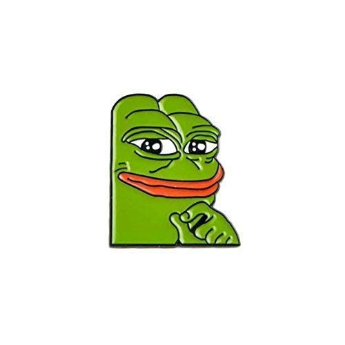 Minimum Mouse Smug Pepe The Frog Meme Insignia con Alfiler ...