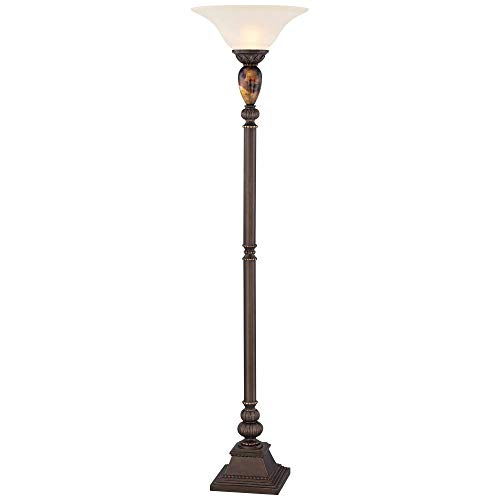 "Kathy Ireland Mulholland 72"" High Torchiere Floor Lamp"
