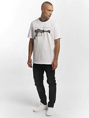 White T Wh white ray Fighters Gun Foo Amplified shirt Homme cq1O0RIWzw