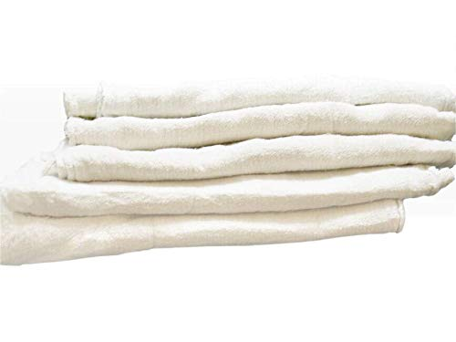 Auto Cleaning Shop - Pro's Choice White Auto Mechanic Rags (Pack of 1000), Shop Towels (13 x 13 Inches) - 100% Cotton, Commercial Grade Wipers - Home, Garage, Auto Body Shop, Wiping Cleaning Oil Spills, Machinery, Tools