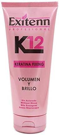 Exitenn K12 Keratin Fixing Treat Tratamiento Capilar Sin Aclarado - 300 ml