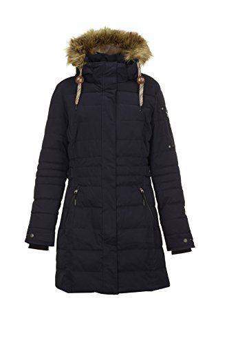 G.I.G.A. DX Women's Hawana Casual Function Parka in Down Optic with Zip Off Hood dark navy