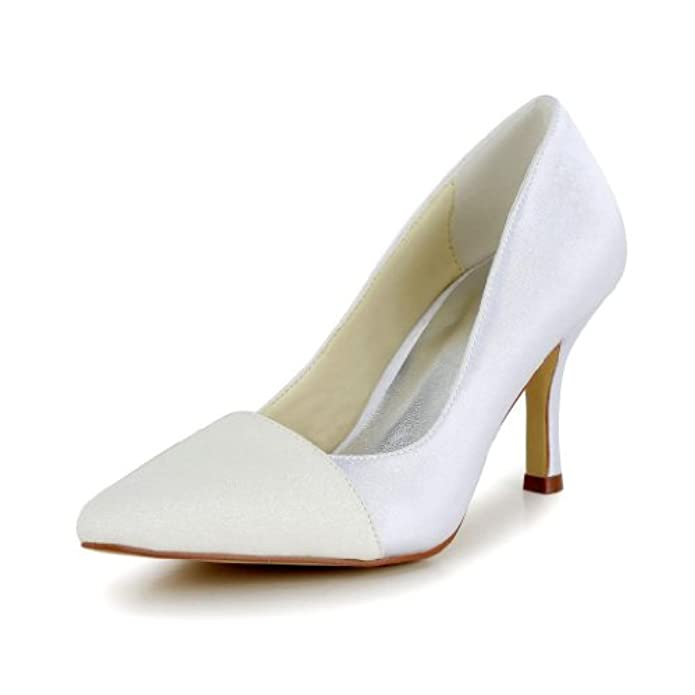 Scarpe E Borse Da Donna Col Tacco Jia Wedding A3129 Sposa