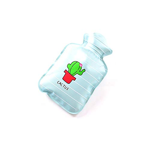 MSYOU Botella de agua caliente, pequeña, linda, de dibujos animados, bolsa de agua caliente, calentadores de manos, invierno gran regalo para las mujeres y ...