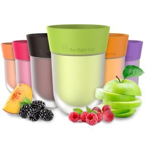 Flavor Enhancing water Cup- Pack of 6 flavored cups - Orange, Cola, Berry, Apple, Peach and Grape. Helps you drink water instead of soda. by The Right Cup by The Right Cup (Image #8)
