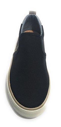 U.S.POLO ASSN. Scarpe Uomo Slipon US Polo MOD. Turner Tessuto Nero/Black US18UP09