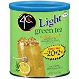 4C Light Iced Tea Mix Green Bonus 22qt (Pack of 4)