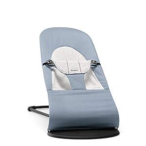 BabyBjörn Cotton/Jersey Bouncer Balance Soft, Blue/Grey