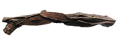 Notting Hill Leafy Branch (Left side) Pull - Antique Copper