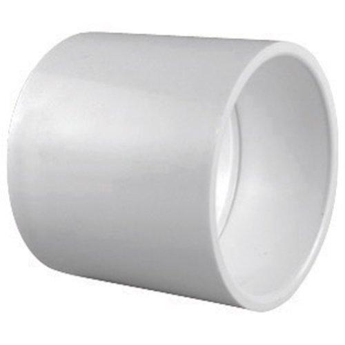 Sch 40 Slip - Schedule 40 PVC Pipe Slip x Slip Coupling (3/4