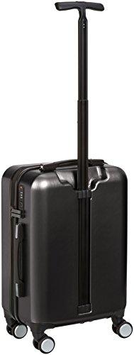 AmazonBasics Metallic Hardshell Spinner Suitcase with Built-In TSA Lock, 20-Inch