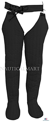NAUTICALMART Padded Arming Leg Protection Cotton Padded Legging with Shoe Cover by NAUTICALMART