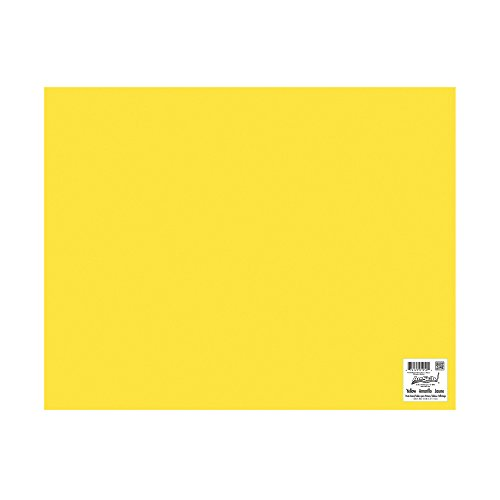 ArtSkills Poster Board, 22 x 28 Inches, Pack of 25, Yellow (PA-1950) by ArtSkills (Image #1)'