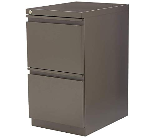 Deluxe Premium Collection Mobile Steel Pedestal File Medium Tone Decor Comfy Living Furniture