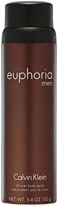 Calvin Klein euphoria for Men Body Spray, 5.4 Oz