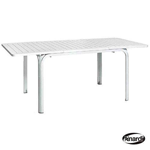 タカショー ナルディ(Nardi) アロロ アロロテーブル NAR-T04W #32872700 『ガーデンテーブル』 ホワイト B01BRAVOA6