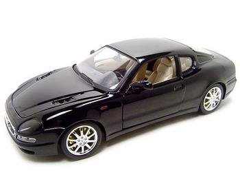 Used, MASERATI 3200 GT COUPE BLACK 1:18 DIECAST MODEL for sale  Delivered anywhere in USA