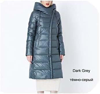 Heart-to-Heart Coat Jacket Winter Women's Hooded Warm Bio Fluff Parka Coat Hight Quality Female Winter