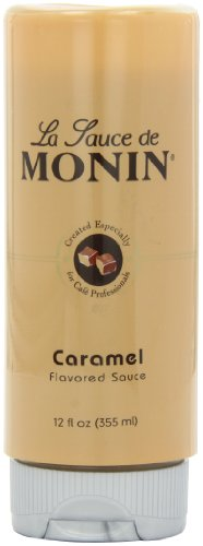 Monin Flavored Sauce, Caramel, 12-Ounce Bottles (Pack of 6) (Monin Caramel)