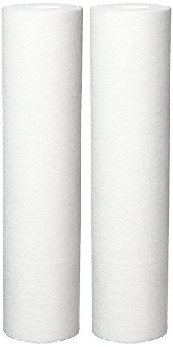 Campbell SED-P10 Sediment Filter Cartridge, Spun Polypropylene Fiber, 10 Micron, 2 Pack