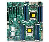 (Supermicro Motherboard EATX (Extended ATX) DDR3 1600 Intel LGA 2011 Motherboards X9DRH-7TF-O)