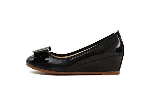 Adeesu Sdc05972 Mujer Con Cuña Negro Sandalias FRw8F4q