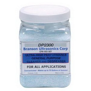Branson Cleaning Solution, DP2300, GP, Powder, 2 lbs.