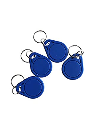 Amazon com: MIFARE DESFire EV1 2K/4K/8K Fob NFC Tag Blue