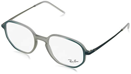 Ray-Ban Unisex 0RX7152 Rubber Brown On Top Green One Size