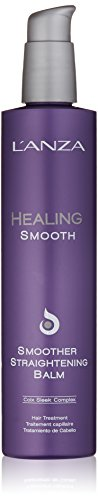 Hair Straightening Cream (L'ANZA Healing Smooth Smoother Straightening Balm, 8.5 oz.)