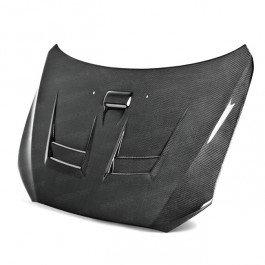 Seibon DV-Style Carbon Fiber Hood for 2008-2012 Mitsubishi Lancer EVO X