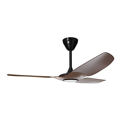 Haiku Home L Series Indoor/Outdoor Wi-Fi Enabled Ceiling Fan with Led Light, Works with Alexacocoa/Black (Ceiling Fans With Led compare prices)