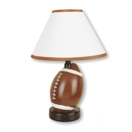 HPP Inc 604FT-N Ceramic Football Table Lamp by HPP
