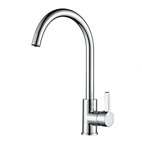 Moderno rubinetto per lavello da cucina, ad arco alto da bar ...