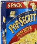 Pop-secret Microwave Popcorn Extra Butter 6 PK (Pack of 18) by Pop Secret
