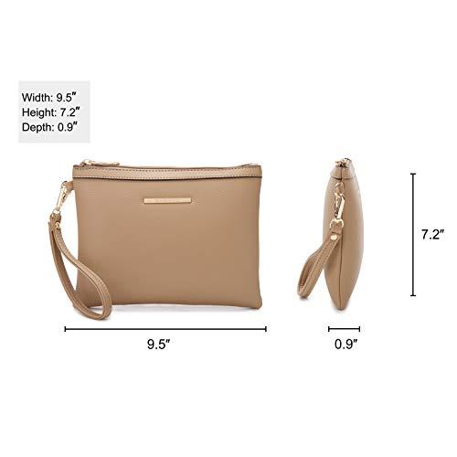 0c62d7f9399 Dasein Women s Handbags and Purses Ladies Designer Tote Shoulder Bags  Satchel Top Handle Work Bags Briefcase