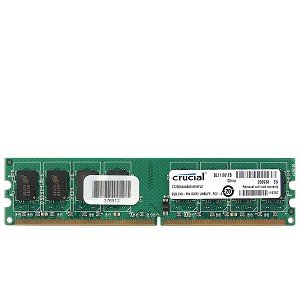 Crucial 2GB DDR2 RAM PC2-6400 240-Pin DIMM Major/3rd